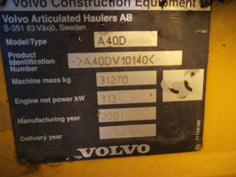 volvo a40d 381592 029