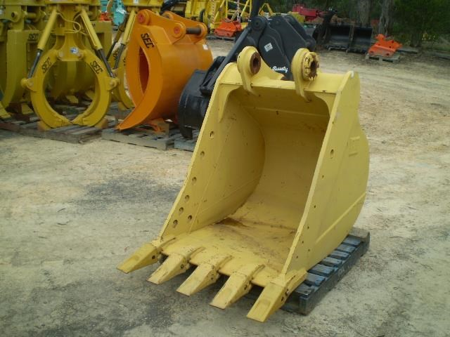 caterpillar heavy duty 322 dig bucket 383454 013