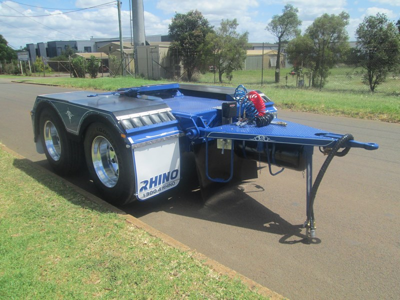 rhino tandem axle road train dolly 140810 009