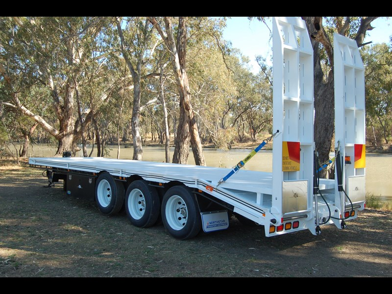 northstar transport equipment tri axle tag trailer 384819 005