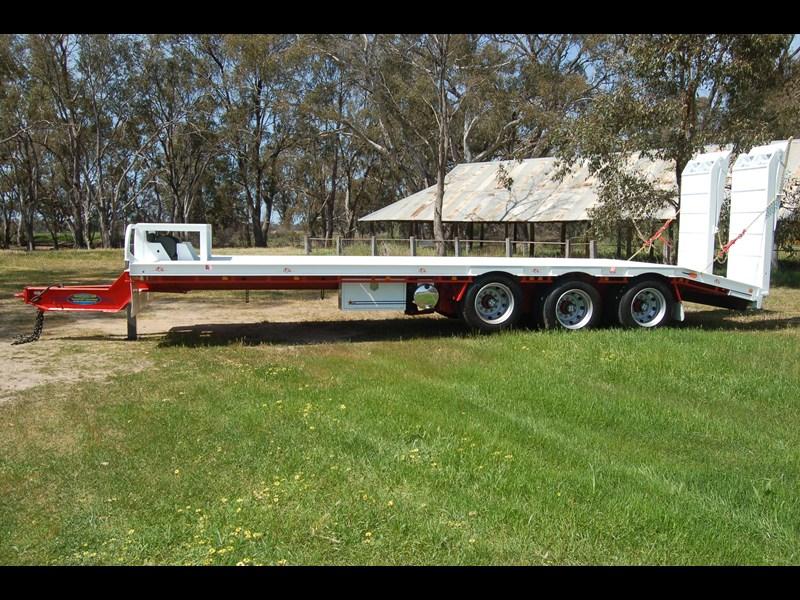 northstar transport equipment tri axle tag trailer 384826 002