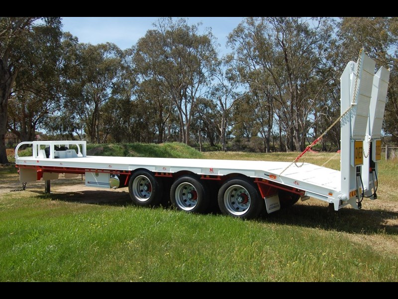 northstar transport equipment tri axle tag trailer 384826 005