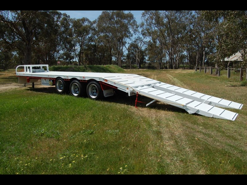 northstar transport equipment tri axle tag trailer 384826 009