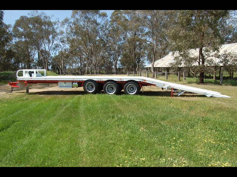 northstar transport equipment tri axle tag trailer 384826 015