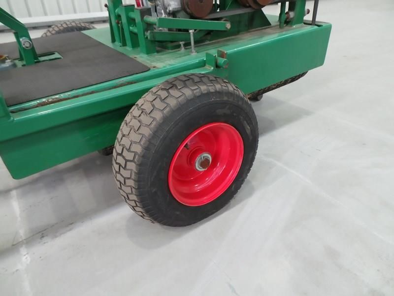 turf tec ride on greens roller 324184 008
