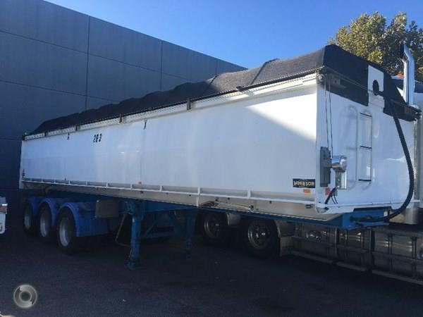 jamieson 30' x 4' steel chassis tipper 385240 011