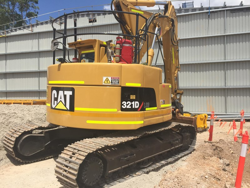 caterpillar caterpillar 321c lcr - zero tail swing 338972 001