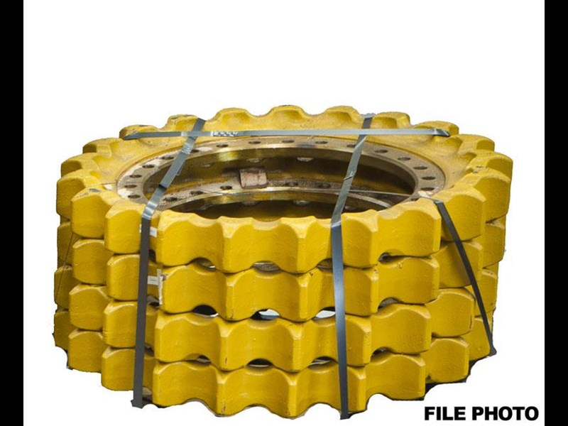 caterpillar 345b sprocket 387695 001