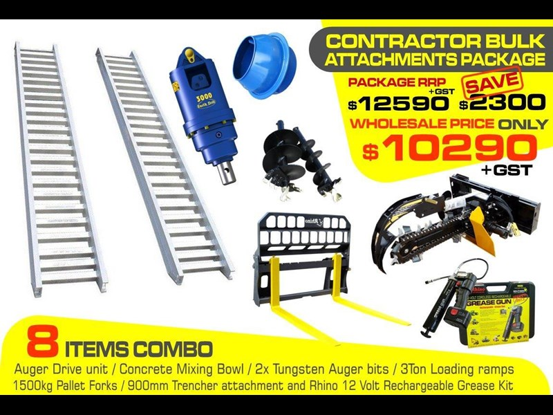[special deal] ramps - contractors bulk attachments package [8 items] [attcombo] 237135 001