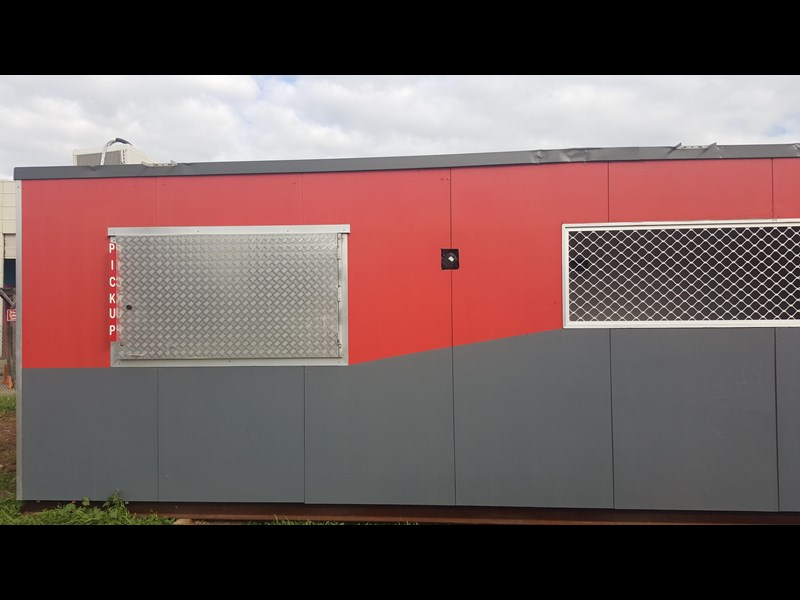 e i group portables used 11m x 1.8m 392589 017