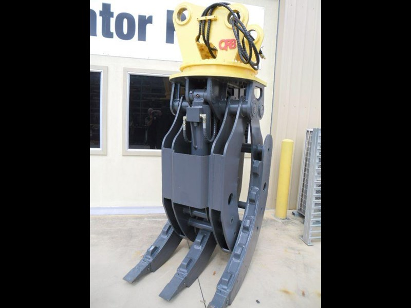 caterpillar caterpillar hydraulic rotating grabs 394371 003