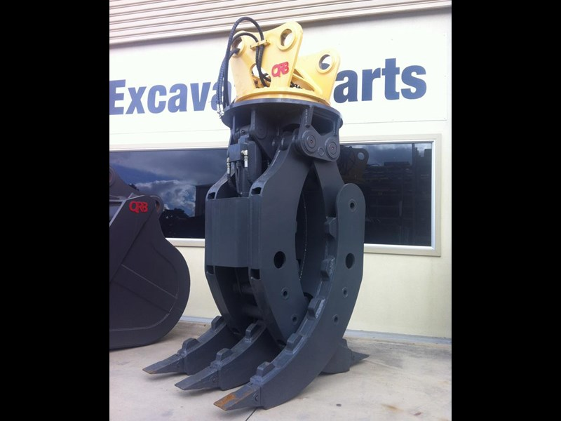 caterpillar caterpillar hydraulic rotating grabs 394371 005