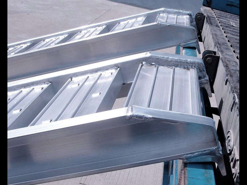 rhino 1800.kg aluminium loading ramps - kanga / dingo / bobcat / skid steer loading ramps [attramp] 394515 019