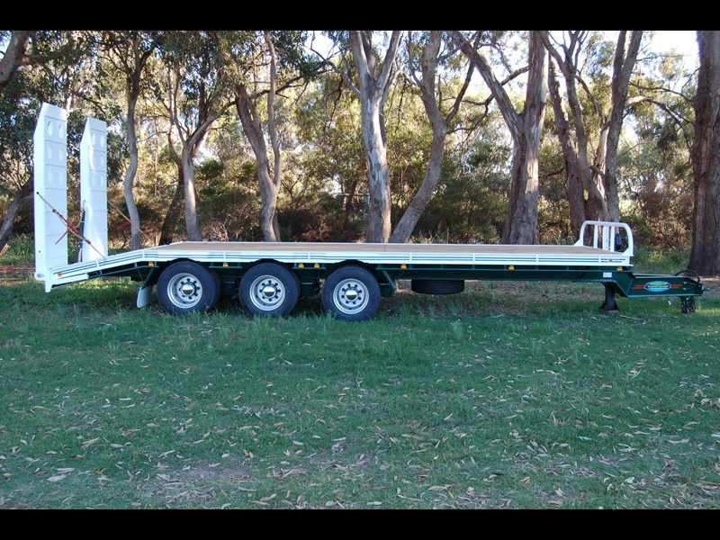 northstar transport equipment tri axle tag trailer 394600 003