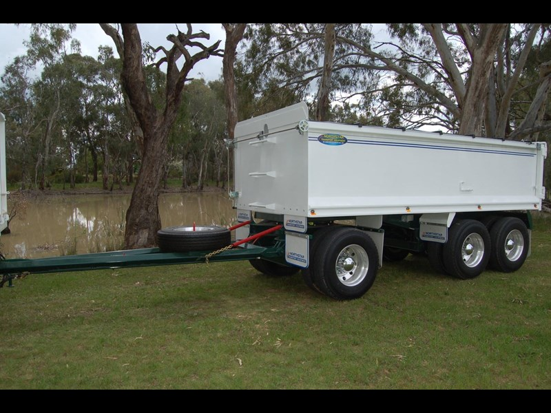 northstar transport equipment tipping dog trailer 394603 001