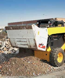 simex cb800 loader crusher buckets 394638 001