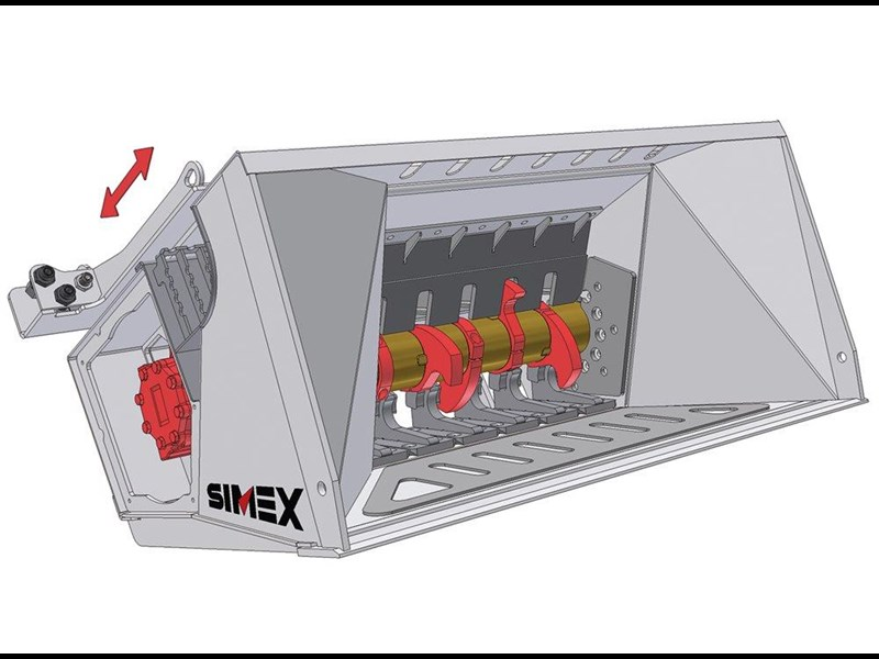 simex cb800 loader crusher buckets 394638 007