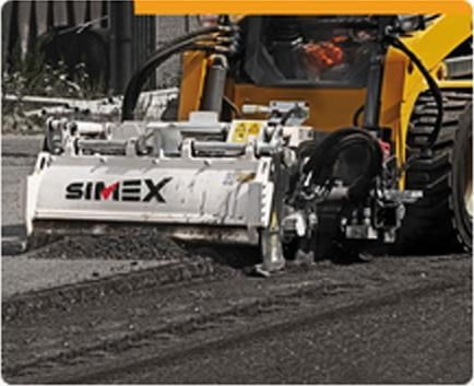 simex pl25.10 self levelling planer 394856 021