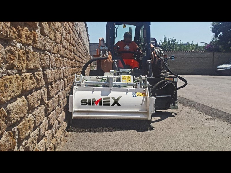 simex pl25.10 self levelling planer 394856 009