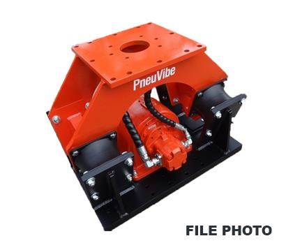 pneu vibe cp51 compaction plate 395163 001
