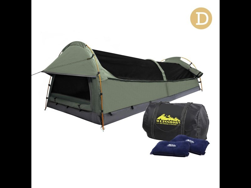 weisshorn double canvas swag tent 396024 003