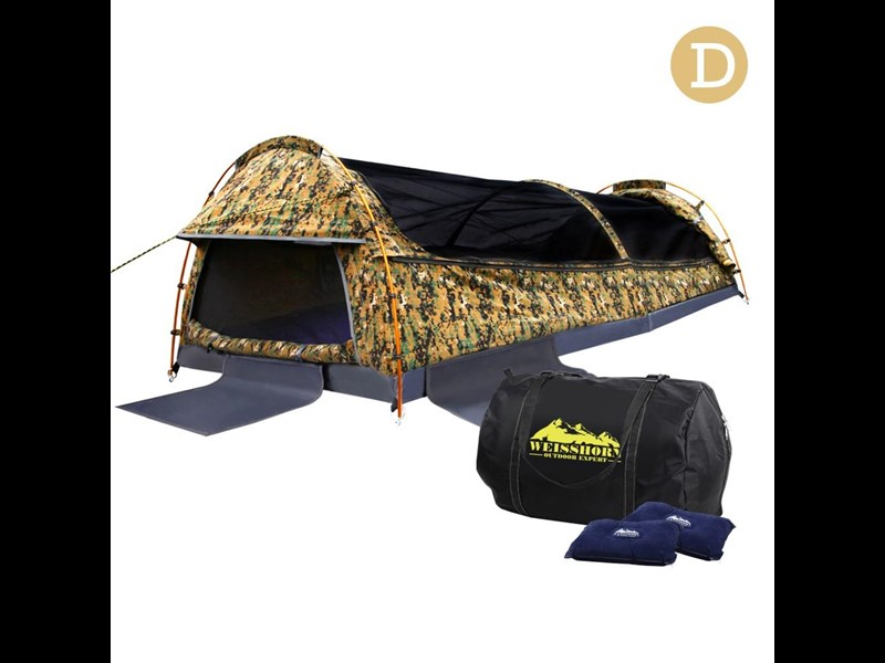 weisshorn double canvas swag tent 396024 004