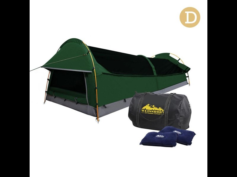 weisshorn double canvas swag tent 396024 006