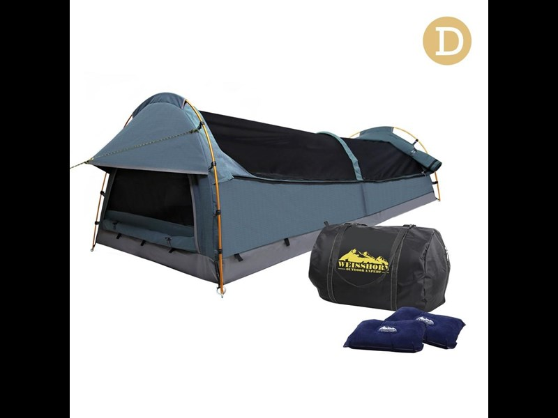 weisshorn double canvas swag tent 396024 008