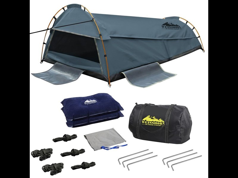 weisshorn double canvas swag tent 396024 001