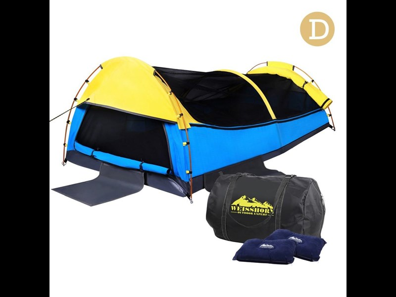 weisshorn double canvas swag tent 396024 007