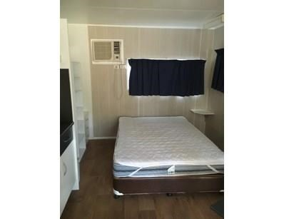 cabin portable cabins -   6m x 3m. 1 bedroom / bunkroom / kitchen / dining /annex. 397524 013