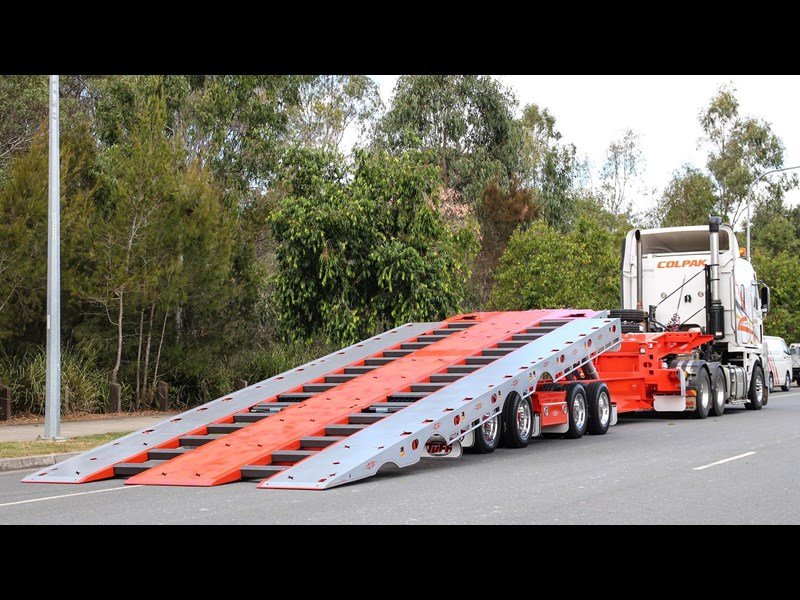 tuff trailers 3x4 or 4x4 drop deck / fixed width or deck widening / tilt 'n' slide - super tilt 398286 019