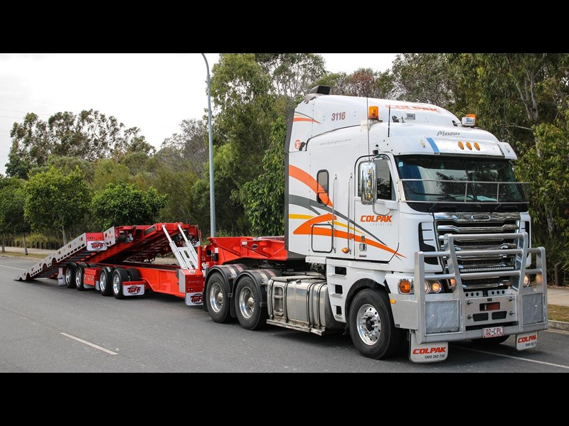tuff trailers 3x4 or 4x4 drop deck / fixed width or deck widening / tilt 'n' slide - super tilt 398286 025