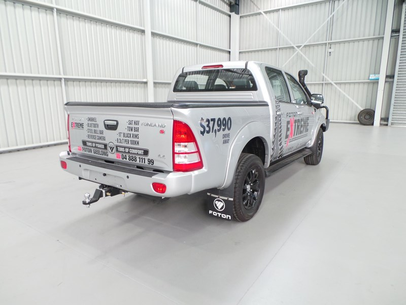 foton dual cab 4x4 ute (extreme pack) 398883 009
