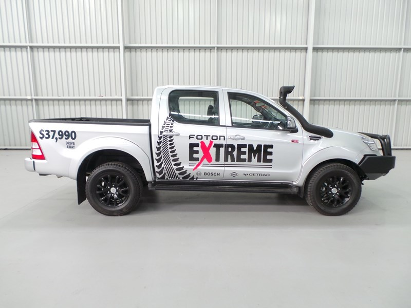 foton dual cab 4x4 ute (extreme pack) 398883 011