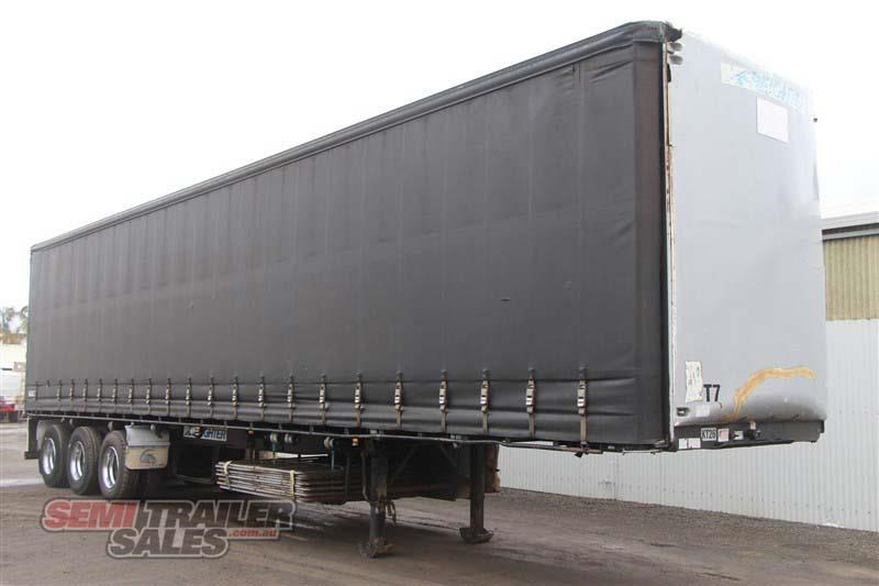 maxitrans 45ft curtainsider road train rated semi trailer 404328 002