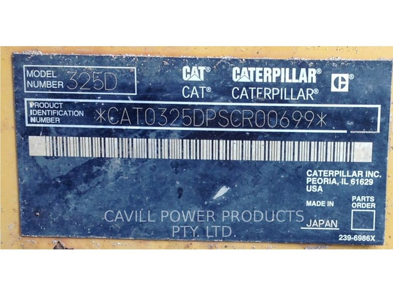 caterpillar 325dl 404988 014