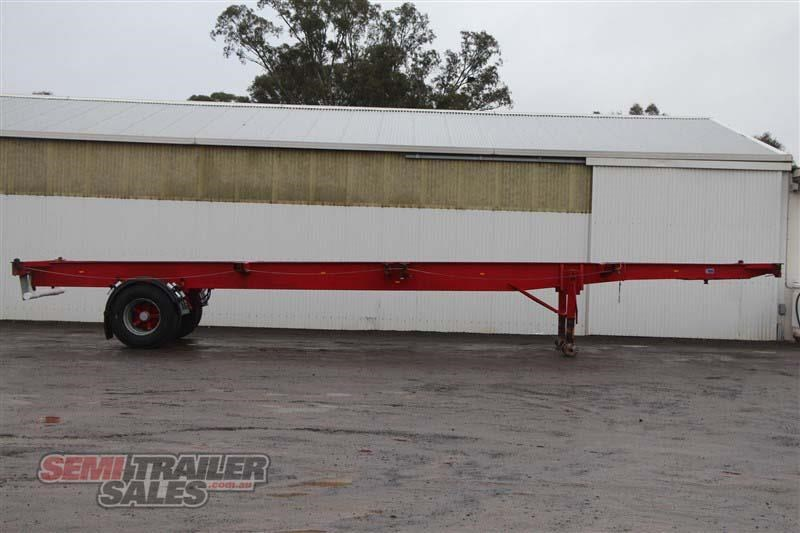 freighter 40ft skel semi trailer with 3 way pins 406776 001