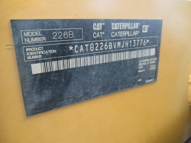 caterpillar 226b series 2 high flow 407134 019