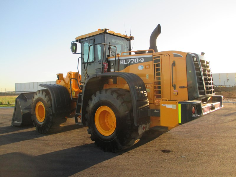 hyundai hl770-9 (also available for hire) 407765 091