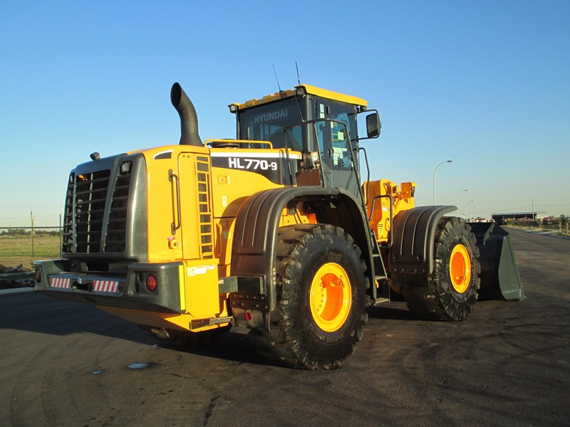hyundai hl770-9 (also available for hire) 407765 007