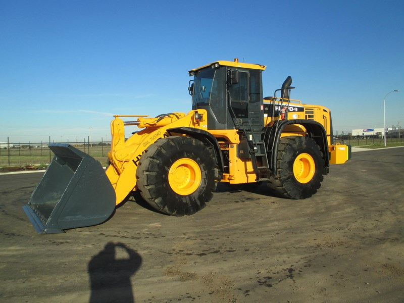hyundai hl770-9 (also available for hire) 407765 009