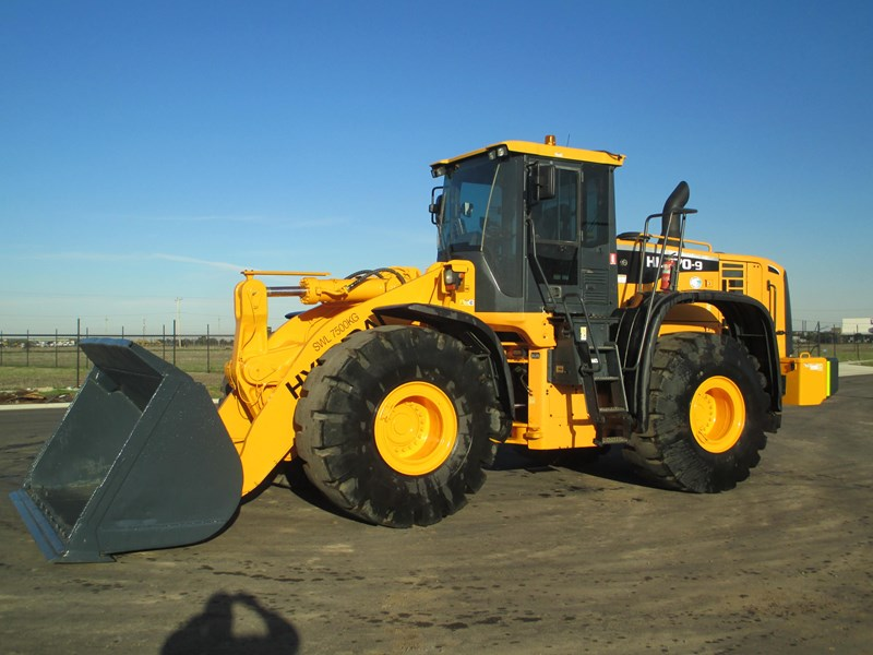 hyundai hl770-9 (also available for hire) 407765 017