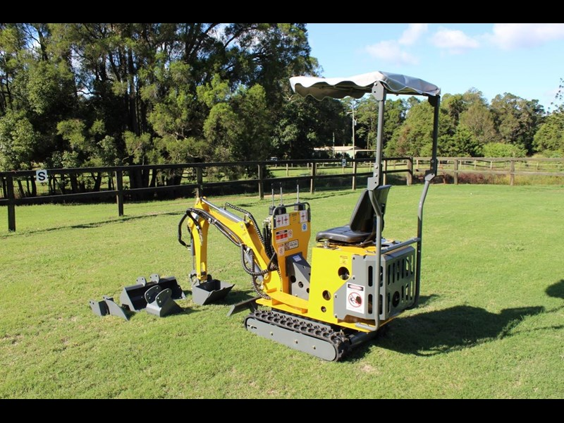 ozziquip mini digger tiger 407811 005
