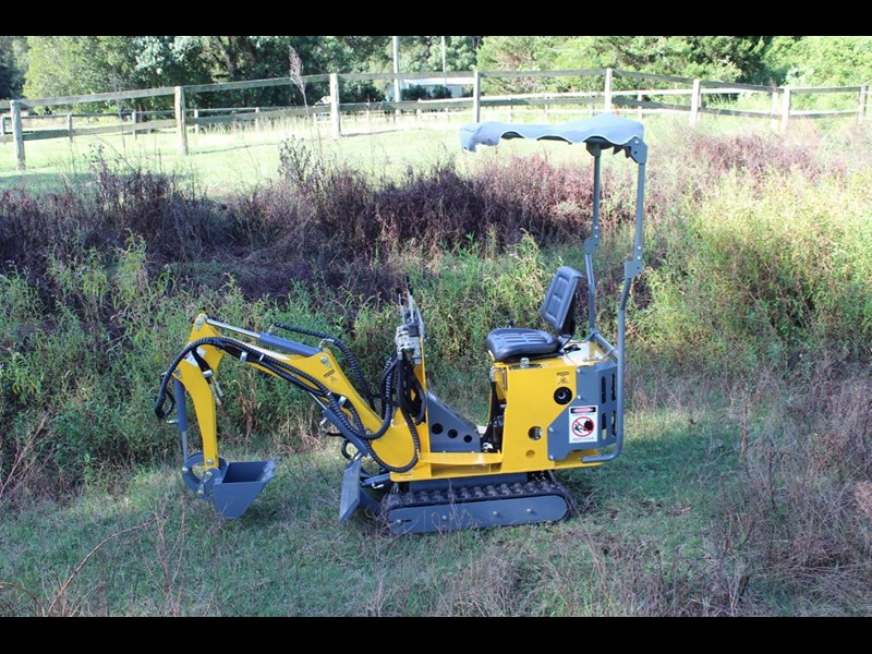 ozziquip mini digger tiger 407811 021