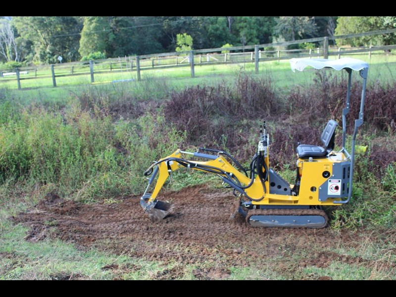 ozziquip mini digger tiger 407811 035