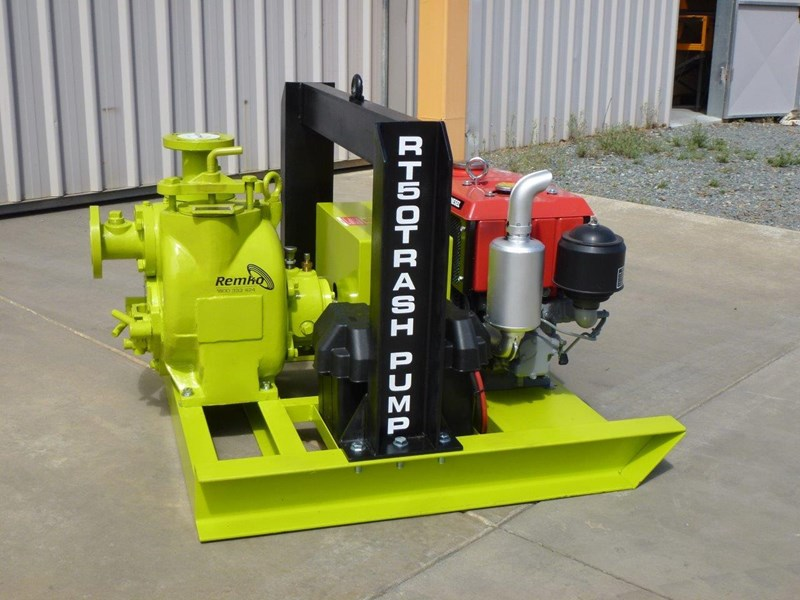 remko rt-050 compact dewatering pump package 408305 005