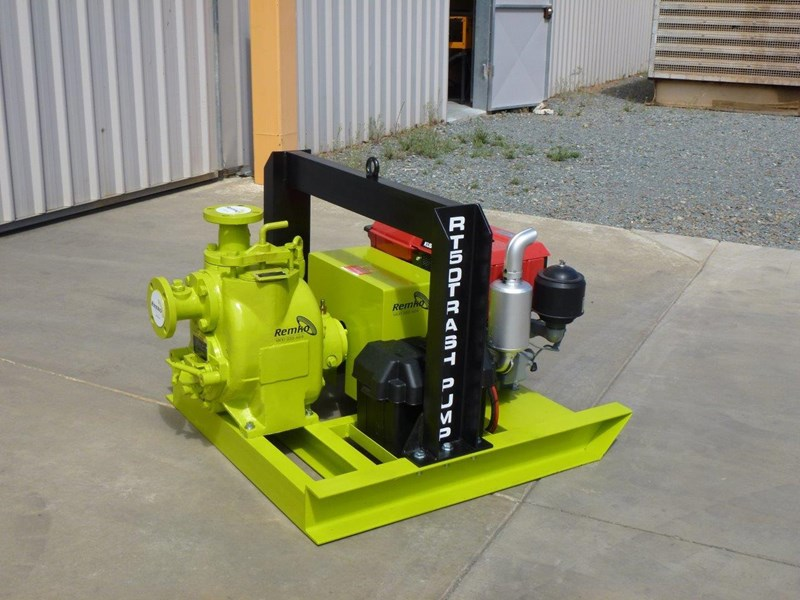 remko rt-050 compact dewatering pump package 408305 007