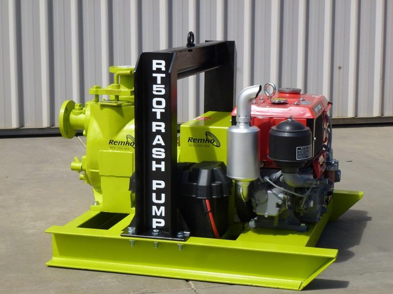 remko rt-050 compact dewatering pump package 408305 009