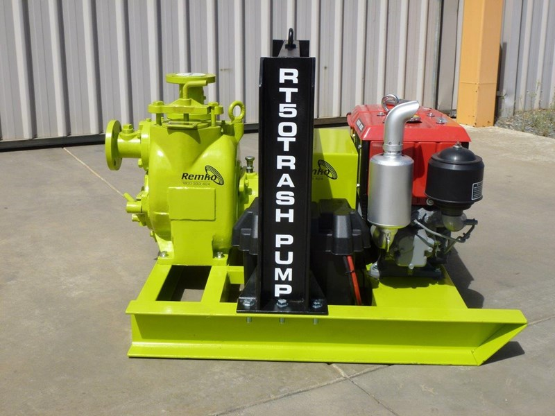 remko rt-050 compact dewatering pump package 408305 013